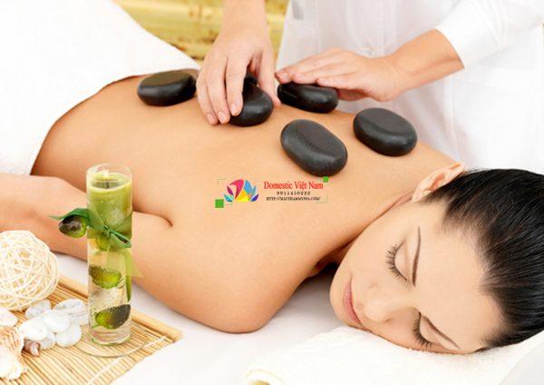 Bộ đá nóng Massage chính hãng