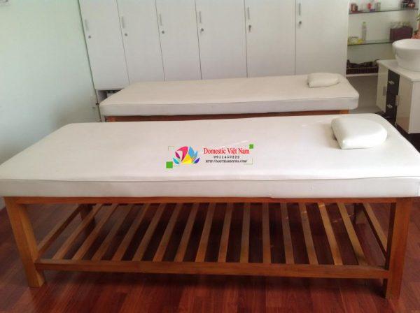 Giường gỗ phục vụ Spa