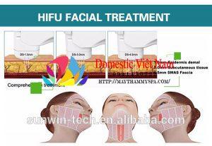 Máy nâng cơ trẻ hóa làn da 2 trong 1 công nghệ Hifu
